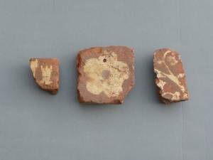 !3th century floor tiles found at Mourne Abbey