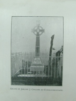 The Arctic Explorer Jerome Collins' Monument at Curraghkippane, near Cork City